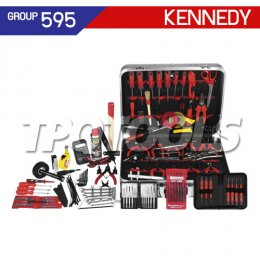 ชุดกระเป๋าเครื่องมือช่าง 122 ชิ้น KEN-595-3040K