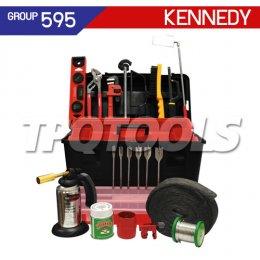 ชุดกล่องเครื่องมือช่าง 22 ชิ้น KEN-595-4010K
