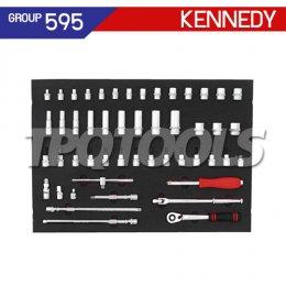 ชุดถาดเครื่องมือช่าง 50 ชิ้น KEN-595-5020K