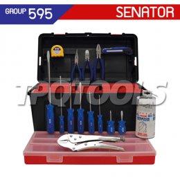 ชุดกล่องเครื่องมือช่าง 33 ชิ้น SEN-595-0500K