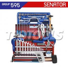 ชุดตู้เครื่องมือช่าง 90 ชิ้น SEN-595-1000K