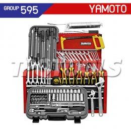 ชุดตู้เครื่องมือช่าง แบบไม่มีล้อ 100 ชิ้น YMT-595-3500K