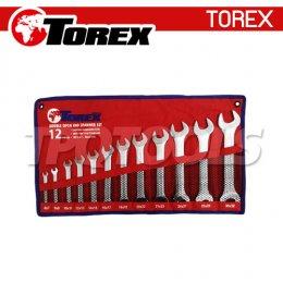 ชุดประแจปากตาย (มิล) TPQ-TRDES12
