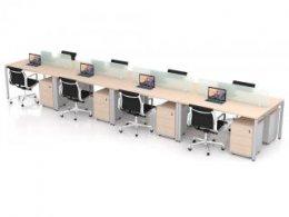 โต๊ะทำงานกลุ่ม 8 ที่นั่ง