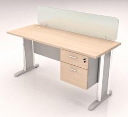 ชุดโต๊ะทำงาน 1 ที่นั่ง