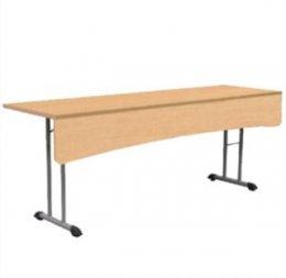 โต๊ะขาพับมีบังตา