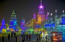 เทศกาลโคมไฟน้ำแข็ง เสิ่นหยาง ฉางชุน ฮาร์บิน จี๋หลิน 7วัน 5คืน (NOKSCOOT)