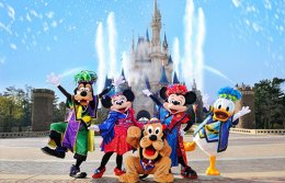 ฮ่องกง Disneyland วัดแชกงหมิว วัดหวังต้าเซียน 3 วัน 2 คืน  (EK)