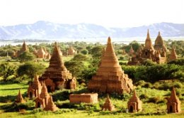(MMR04_SL) พม่า ย่างกุ้ง หงสา สิเรียม เทพทันใจ บินไทยไลอ้อนแอร์ (SL)