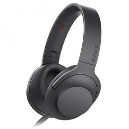 SONY Headphone MDR-100AAPBCE (Black) :1Y
