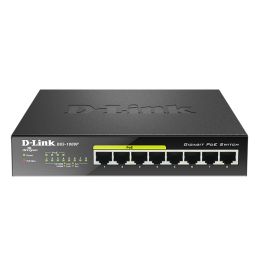 D-Link DGS-1008P 8 Port Gigabit PoE Switch