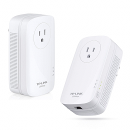 TP-LINK TL-PA8010P KIT AV1200 Gigabit Passthrough Powerline Starter Kit