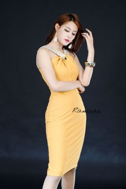 Ramsita Chitto Dress - Gold