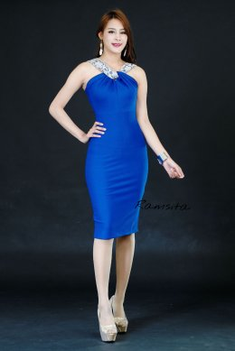 Ramsita Chitto Dress - Blue