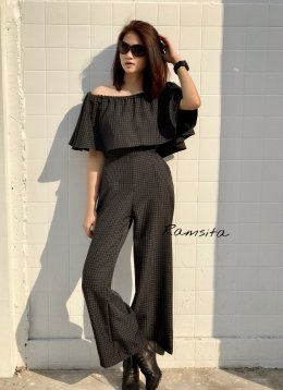Ramsita Jamena Off Shoulder Jumpsuit