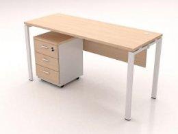 โต๊ะทำงานขาเหล็ก