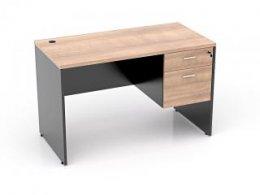 โต๊ะทำงานไม้ 2 ลิ้นชักขวา