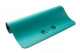 เสื่อโยคะ Grip - Solid Series (Non-Slip) Mat 5mm : Blue