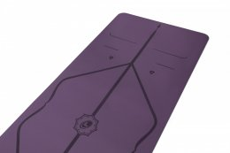 เสื่อโยคะ Liforme - Yoga Mat 4.2mm : PURPLE EARTH