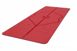 เสื่อโยคะ Liforme - Love Mat 4.2mm : Red (Special Edition)