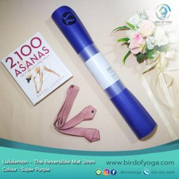 เสื่อโยคะ Lululemon - The Reversible Mat 3mm : Super Purple