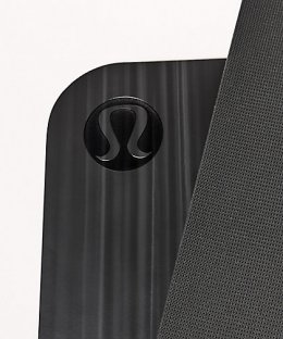 เสื่อโยคะ Lululemon - The Reversible Mat 5mm : Black&White