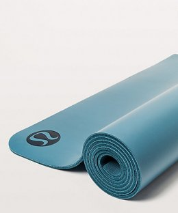 เสื่อโยคะ Lululemon - The Reversible Mat 5mm : Cyprus/Dark Maritime