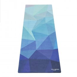 เสื่อโยคะ Yoga Design Lab - Combo Mat 3.5mm : Geo Blue