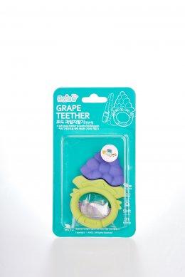 ยางกัดองุ่นวงกลม พร้อมคลิปกันหล่น แบรนด์ Ange - Grape Ring Teether