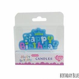 เทียนแฟนซี ลายวันเกิด Candle Birthday- Baby Raihsa