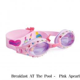 แว่นตาว่ายน้ำ รุ่น Breakfast at the pool - Swim Goggles By Bling2o