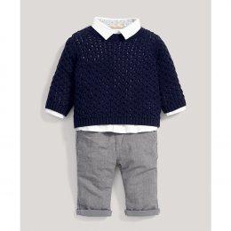 ชุดสูทแบบคลาสสิก 3 ชิ้น จัมเปอร์, เสื้อเชิ๊ต & กางเกง