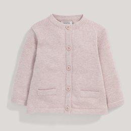 เสื้อคลุมแคดิแกน สีชมพู Pink Cardigan