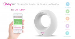 iBaby Air - Air Purifier & Audio Baby Monitor