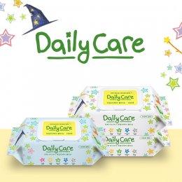 ผ้าเปียก Daily Care Baby Wipes 100 แผ่น - 10 แพ็ค