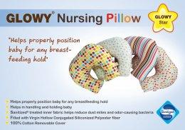 Glowy Star Nursing Pillow หมอนให้นม หมอนรองให้นม