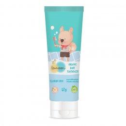ละมุน ยาสีฟันเด็ก ออร์แกนิค กลิ่นแอปเปิ้ล  (40 g)