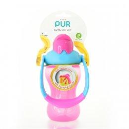 แก้วพร้อมหลอดดูด Pur -   Goin Out Cup