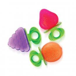 ยางกัด รูปผลไม้ มีที่จับ Water Filled Teether - Fruit Shaped