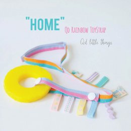 Qd Rainbow Toy Strap สายห้อยของเล่นเรนโบว์