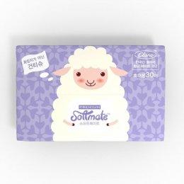 ทิชชู่แห้งอเนกประสงค์ Softmate Baby Dry Wipes รุ่น Premium Compact แพ็ค 30 แผ่น