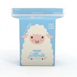 ทิชชู่แห้งอเนกประสงค์ Softmate Baby Dry Wipes รุ่น Basic แพ็ค 200 แผ่น