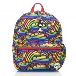 Zip & Zoe กระเป๋าเป้สำหรับเด็ก ลาย Rainbow Multi