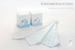 Iflin My Handy Bamboo Washcloth & Napkin