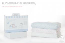 Iflin My Cozy Bamboo Blanket (for Toddlers & Kids) ผ้าห่มใยไผ่ (สำหรับเด็กโต 1.5 – 2 ขวบ)