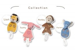miYim Organic Soft Toy - Pacifier Holder