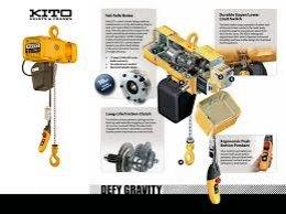 รอกโซ่ไฟฟ้า - รอกโซ่มือโยก - รอกสลิงไฟฟ้า - HOIST ยี่ห้อ KITO