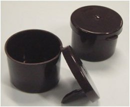 Sputum Container with Spoon, Black 1000 pcs.