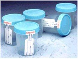 Specimen Container 120 ml.(Sterile)