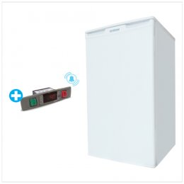 Up-Right Freezer -25°C Capacity : 68L With Alarm Buzzer